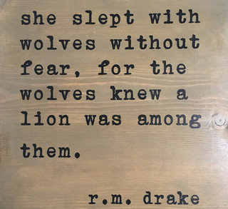 She Slept With Wolves