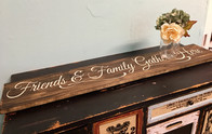 Gather Here Table Trivet / Sign