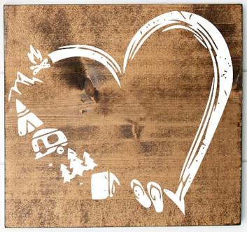 Heart Camping