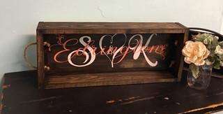 Last Name Rope Box
