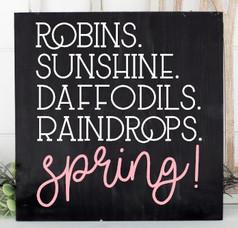 Robins Sunshine