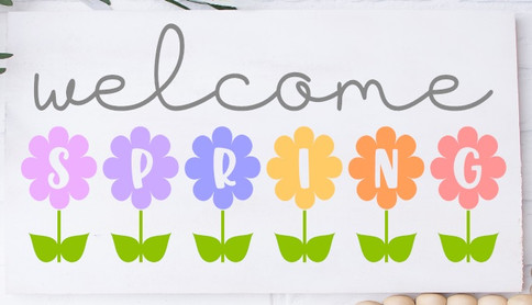 Welcome Spring Flowers