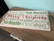 Christmas Around The World Tray