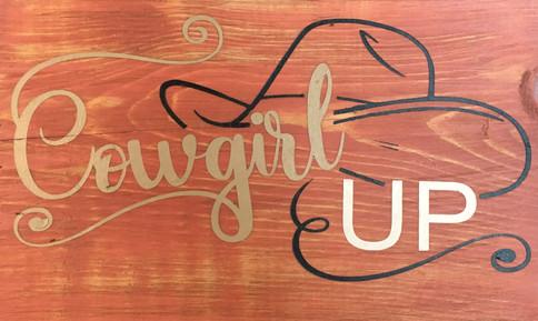 Cowgirl (Cowboy) Up