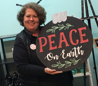 Giant Ornament Peace
