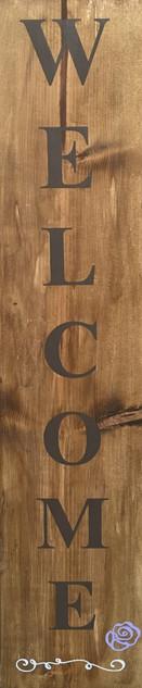 Welcome Porch Board