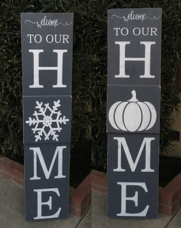 Welcome Interchangeable Porch Board