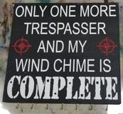 Only One More Trespasser