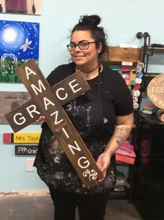 Amazing Grace Cross