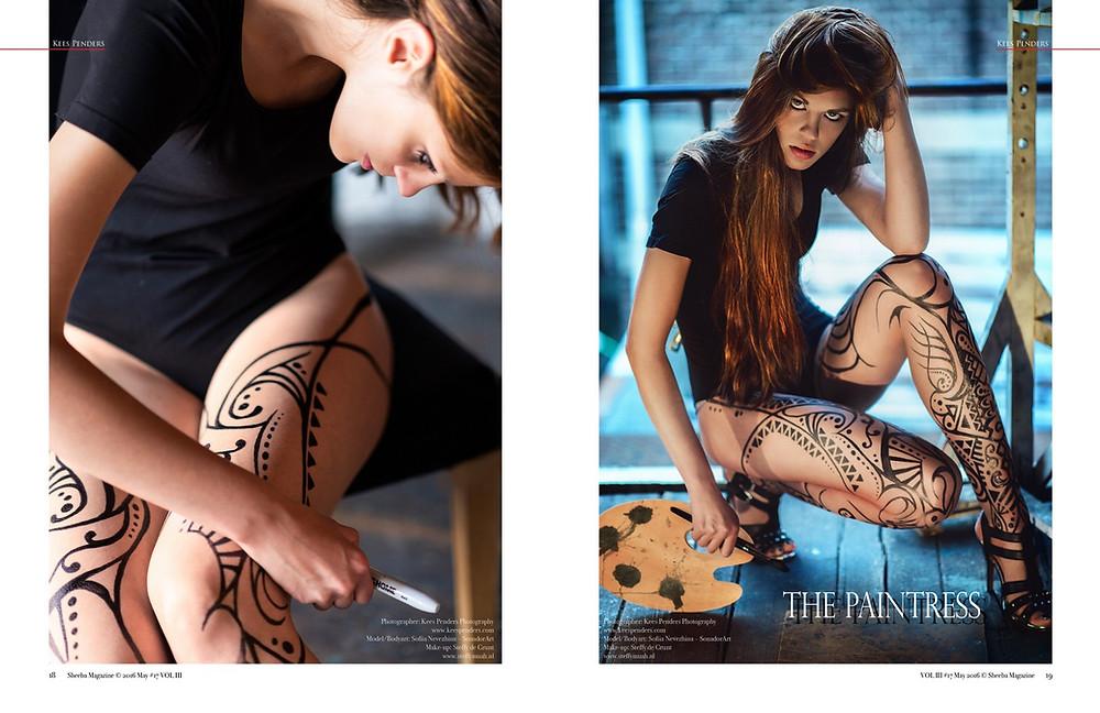 The Paintress for Sheeba Magazine