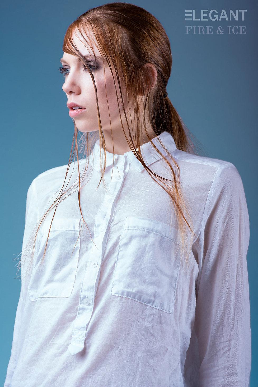 Fire&Ice Editorial Elegant Magazine Nikkis Sikkema Division Model Management