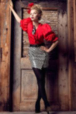 Rutless Red for Obscurae Magazine - Jasmina Toivonen - Division Model Management