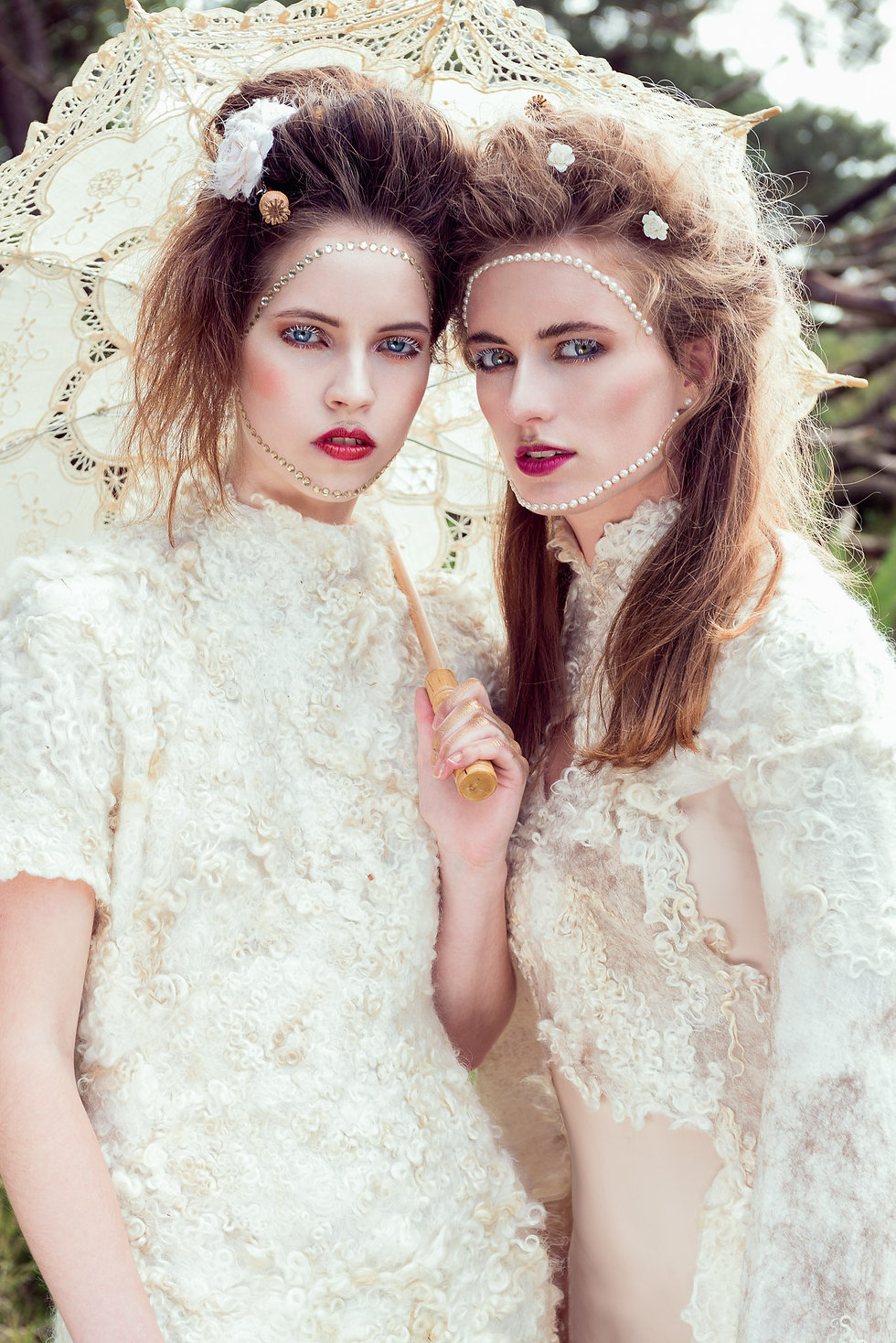 Palette of Nature editorial for Elegant Magazine