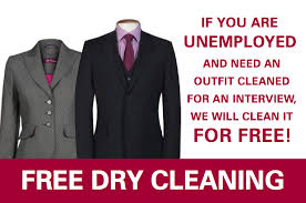 Dry Cleaning for Unemployed
