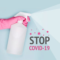 Spray to Cleaning and Disinfection Virus