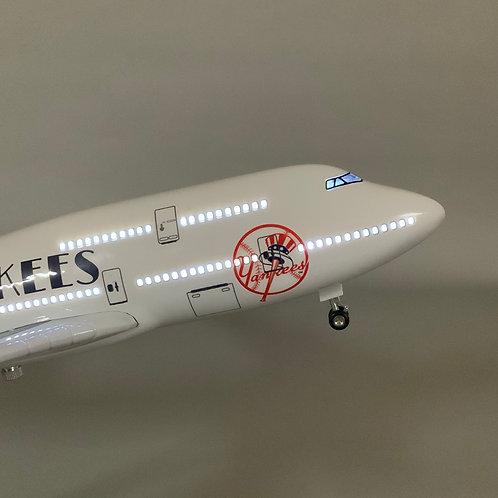 """New York Yankee"" Inspired B747 Model Aircraft"