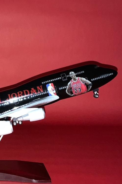 """""""Michael Jordan"""" Inspired B747 Model Aircraft"""