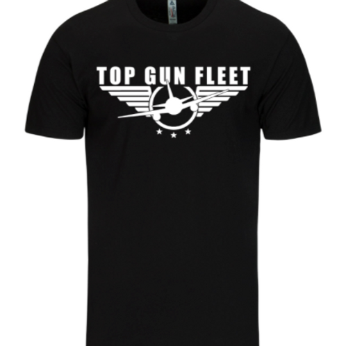 Top Gun Fleet - Black T