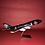 """Thumbnail: """"Michael Jordan"""" Inspired B747 Model Aircraft"""