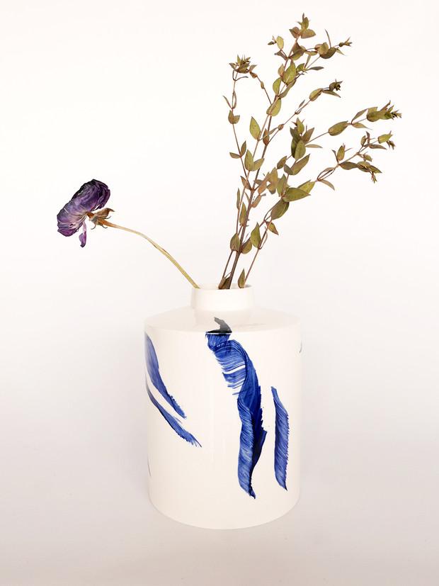 Vase Pilar Calligraphie Danseurs