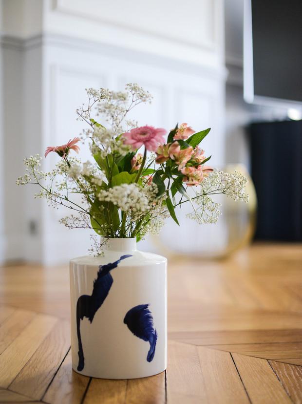 Vase Pilar Calligraphie Espour