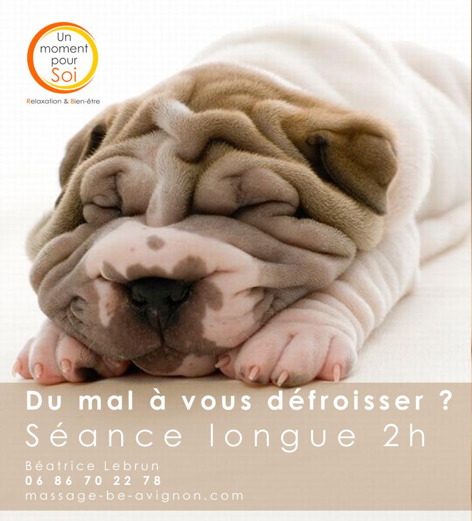 Massage longue durée Avignon Vaucluse