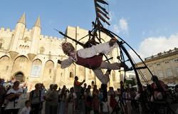 Massage au festival d'Avignon