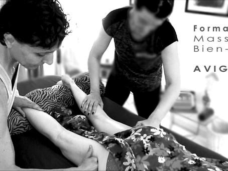 Formation individuelle au massage Bien-être sur Avignon pour particuliers