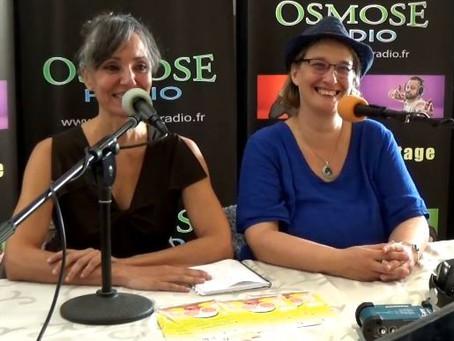 Une interview Osmose, la radio d'Avignon
