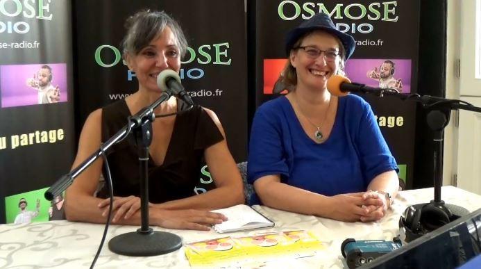 Interview pour le salon Osmozen avec Zazie et Béatrice Lebrun