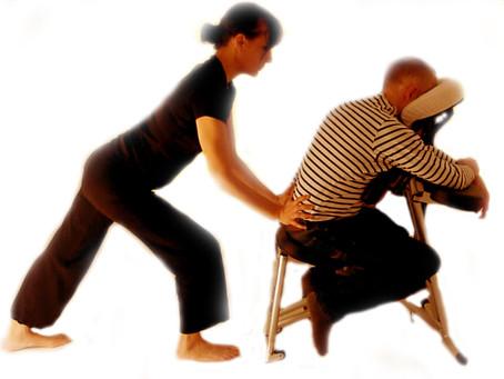 Du massage assis