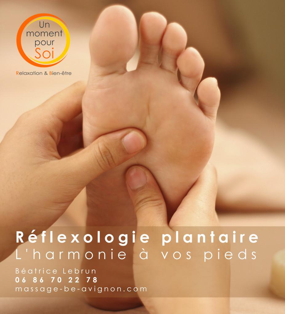 reflexologie plantaire Avignon Vaucluse