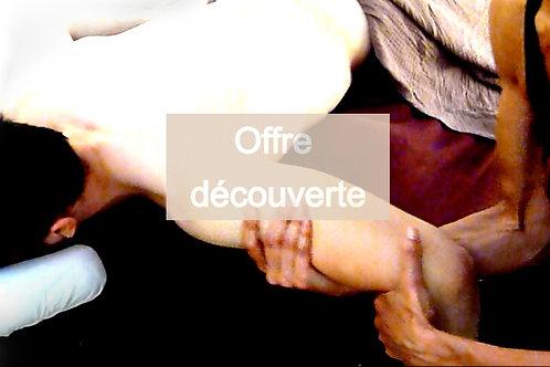 Offre découverte massage avignon