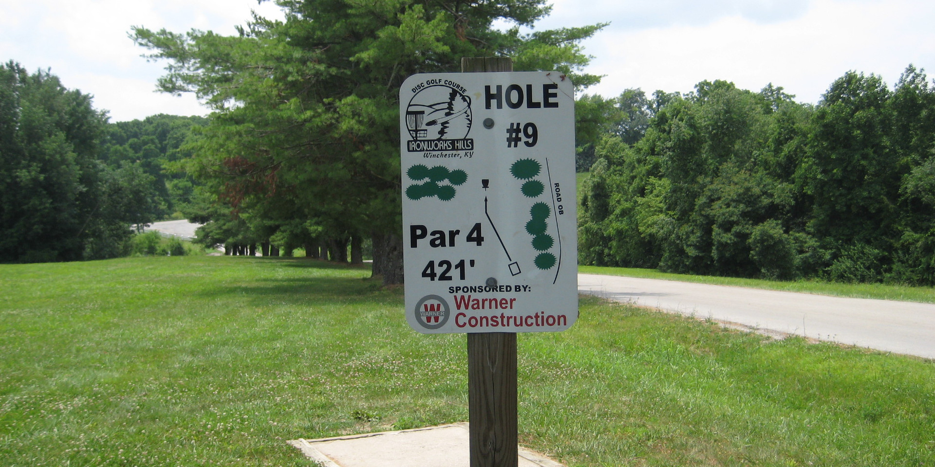 Disc Golf Hole 9 woops.JPG