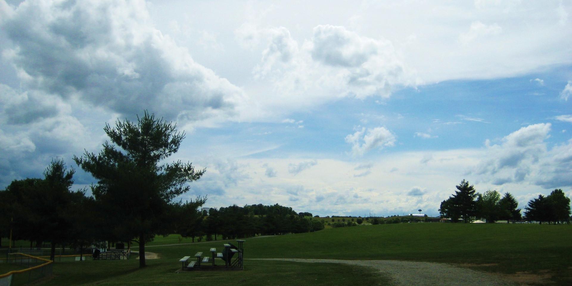 Lykins Bleachers Sky.JPG