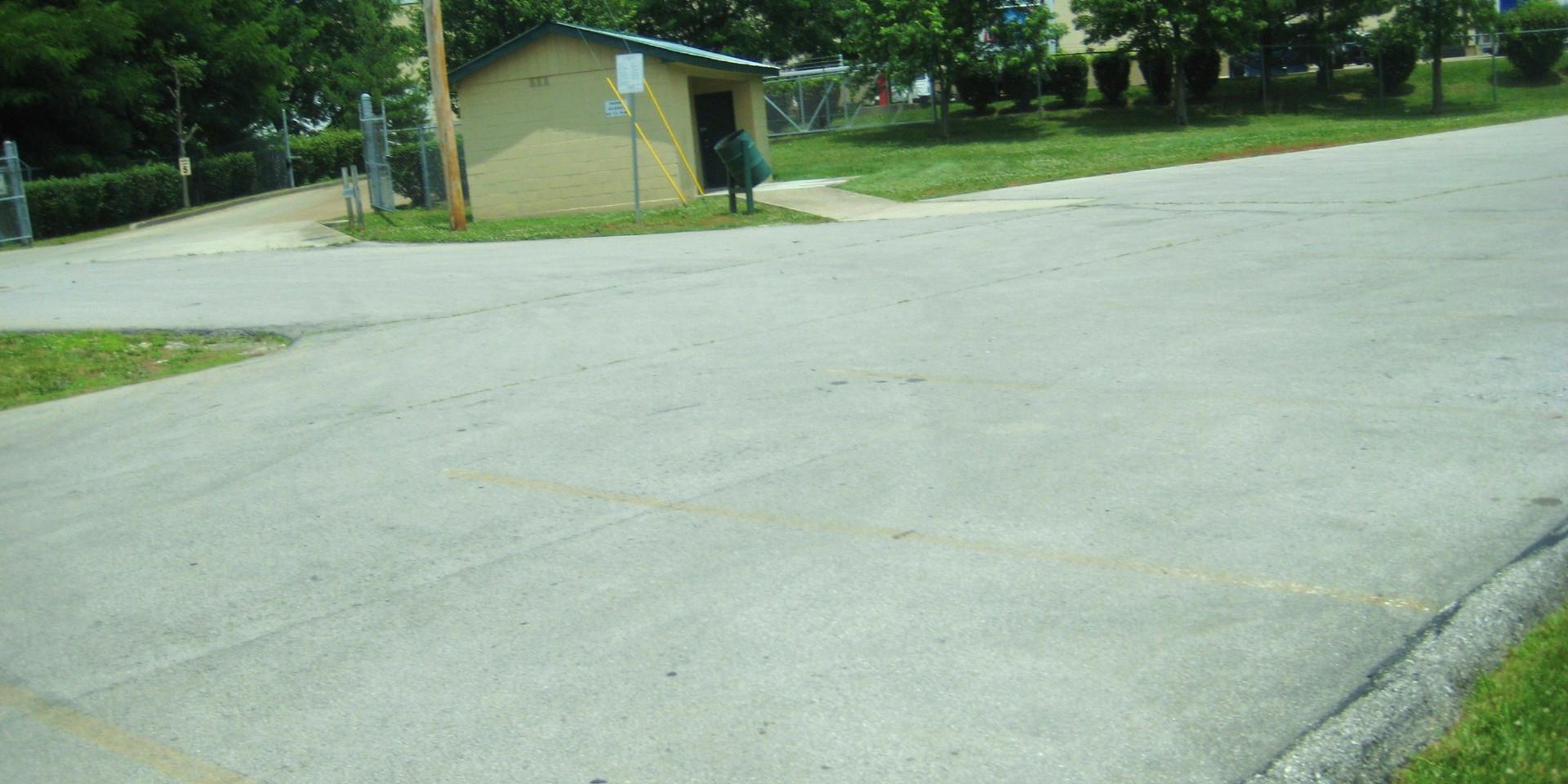 Pepsi park parking.JPG