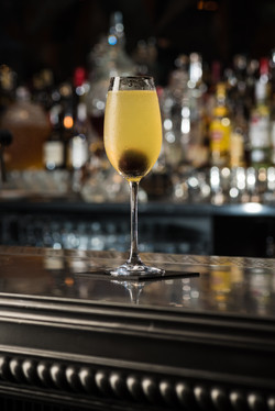 Champagne Cocktail In Situ