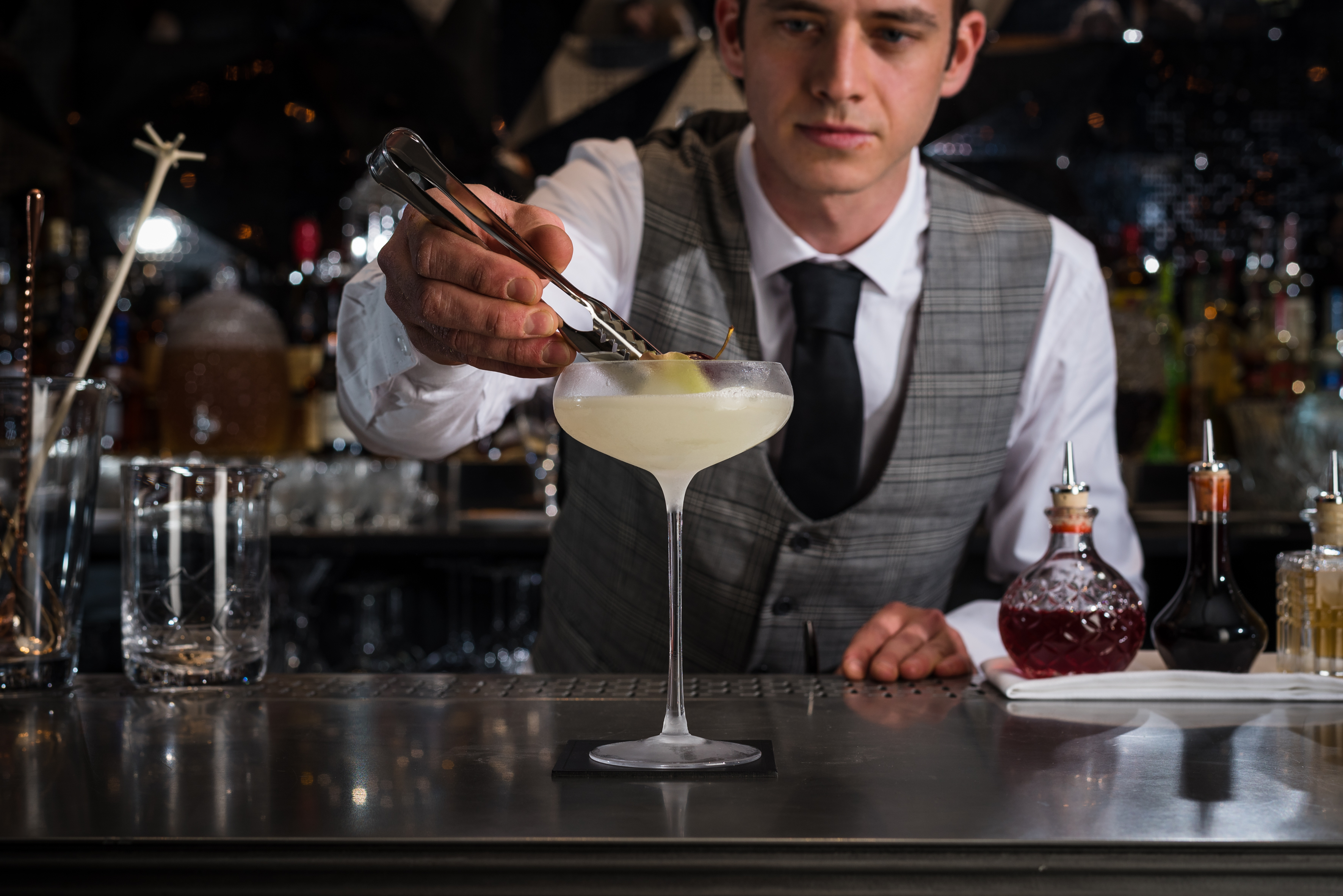 Jasmine Cocktail with Eric
