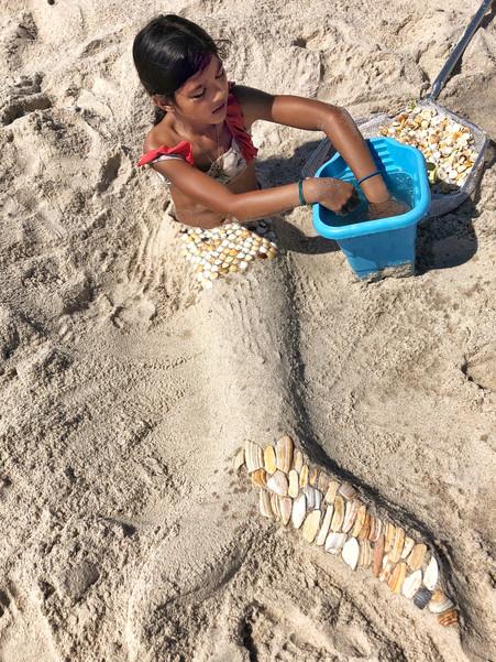 Creating the Mermaid's Tail