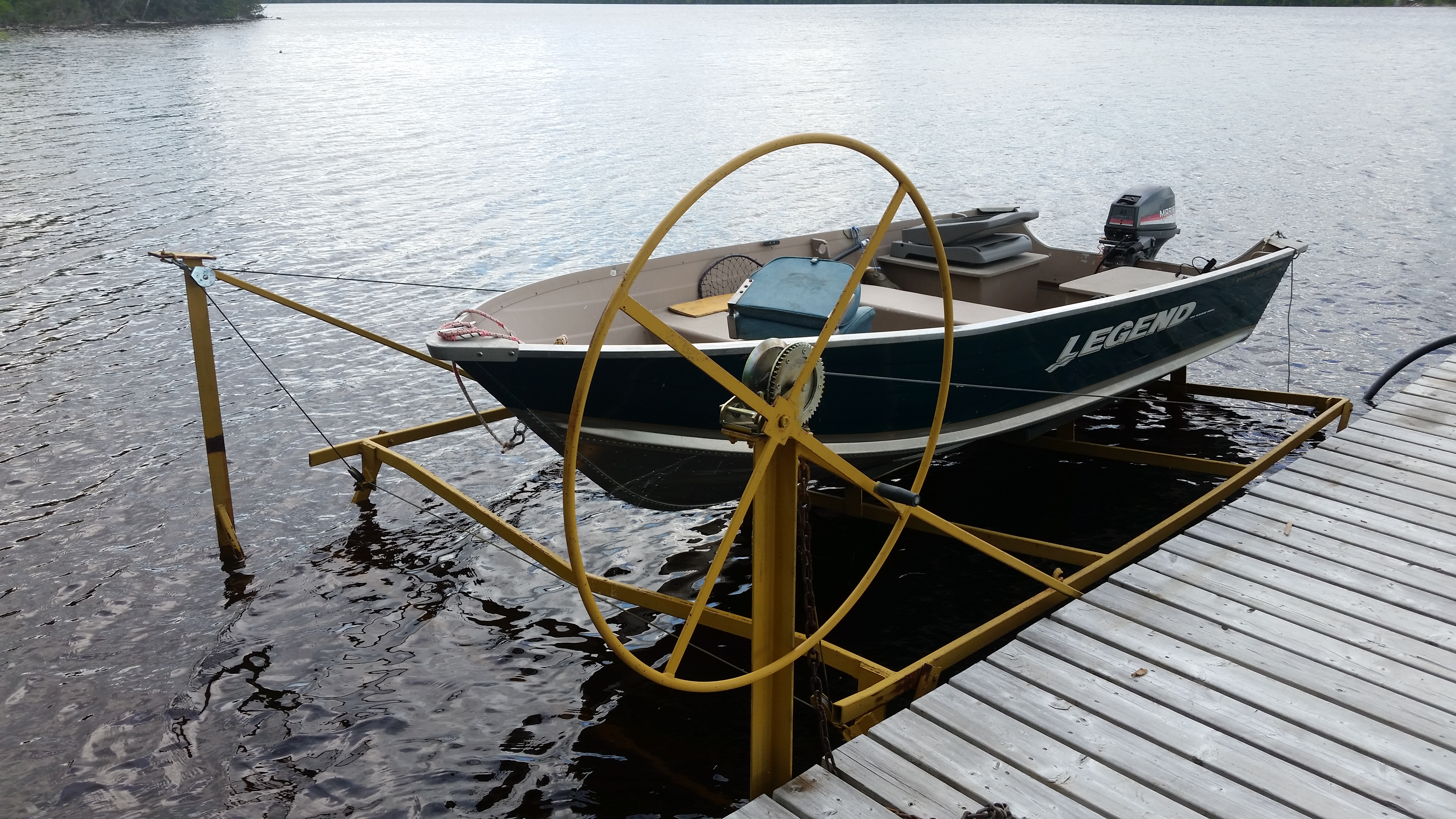 Custom Boat Lift Fabrication