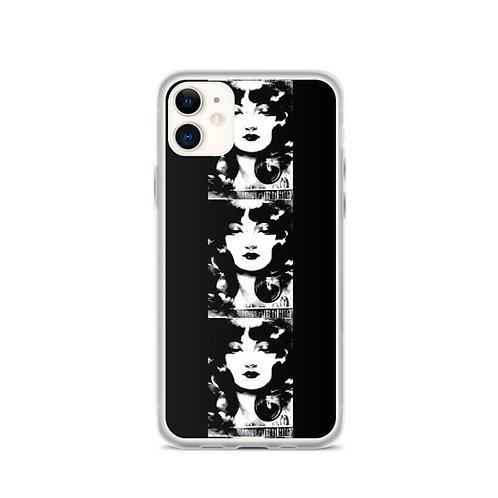 Edgar Allen Poe Lenore iPhone Case Black and White Art