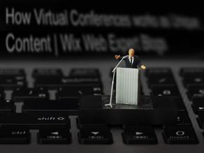 How Virtual Conferences works as Unique Content | Wix Web Expert Blogs