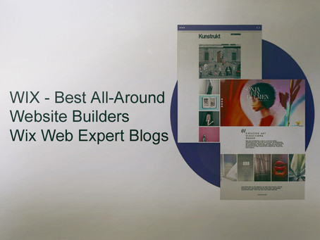 WIX - Best All-Around Website Builders | Wix Web Expert Blogs