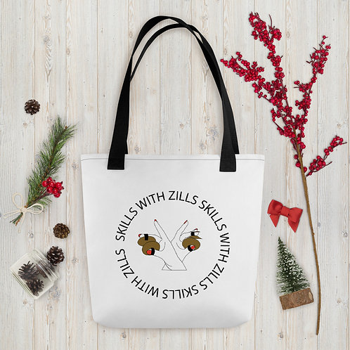Skills with Zills Tote Bag