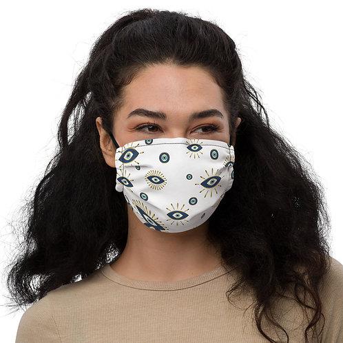 Gold Nazar Face Mask