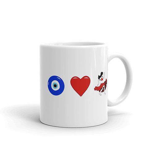 Eye Heart Belly Dance Mug