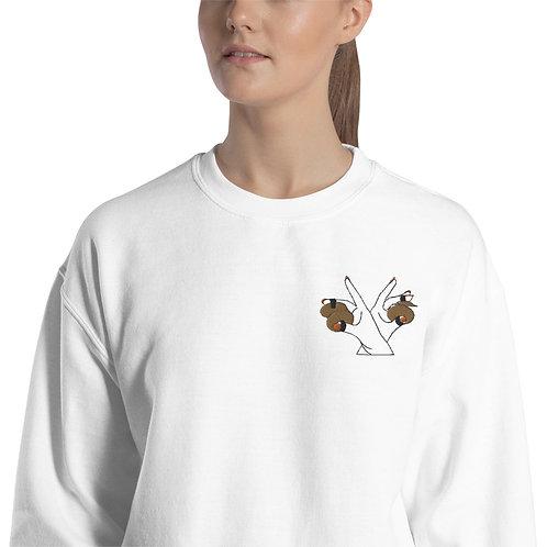 Skills with Zills Embroidered Sweatshirt