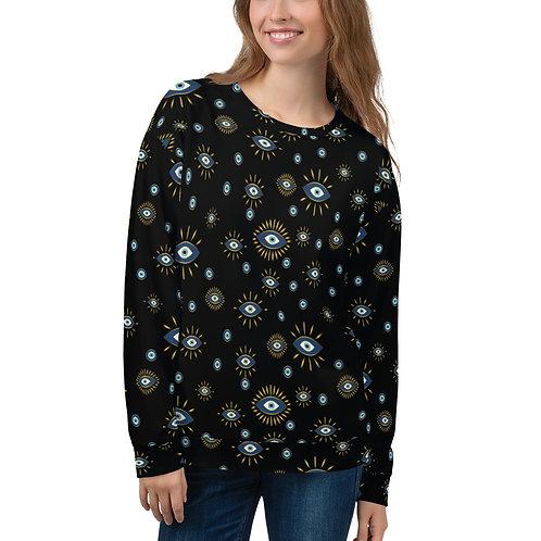 Gold Nazar Unisex Sweatshirt