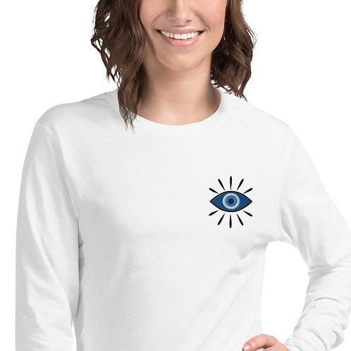 Nazar Unisex Long Sleeve Embroidered Tee