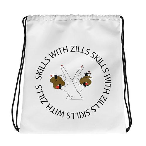 Skills with Zills Drawstring Bag